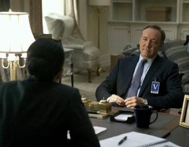 Kevin Spacey z cygarem i whisky; zagra Churchilla