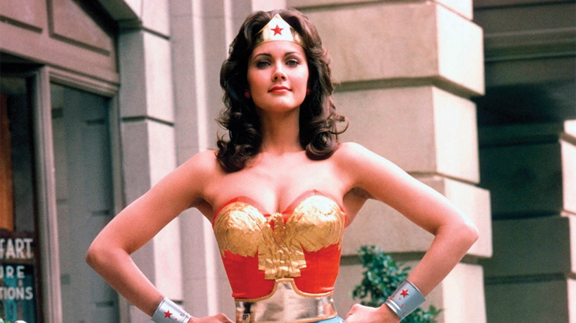 Lynda Carter jako Wonder Woman